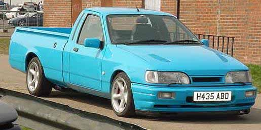 download Ford Sierra P100 Pick up able workshop manual