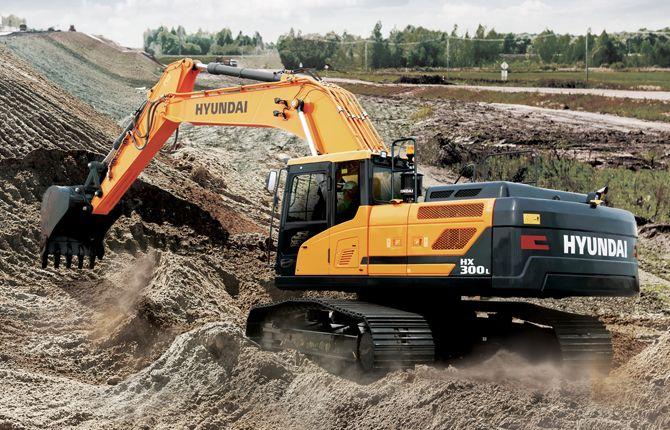 download HYUNDAI HX300L Crawler Excavator able workshop manual