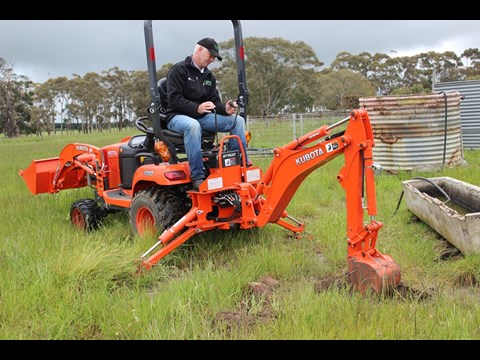 download KubotaBx25 Tractor able workshop manual