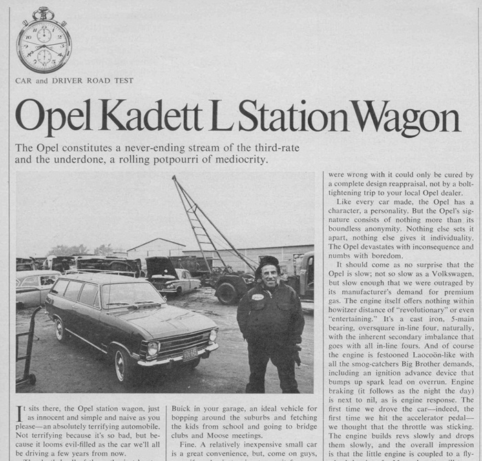 download Opel Kadett able workshop manual