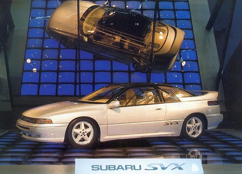download Subaru Alcyone SVX able workshop manual
