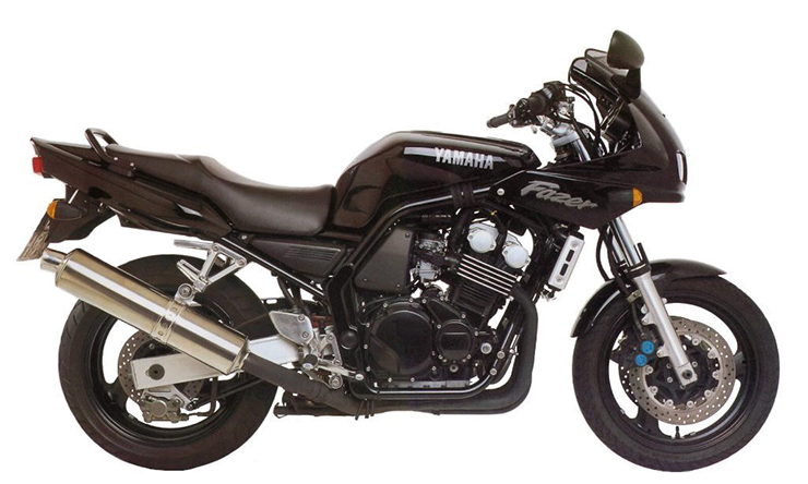 Yamaha Yzf600r Thundercat And Fzs600 Fazer 1996